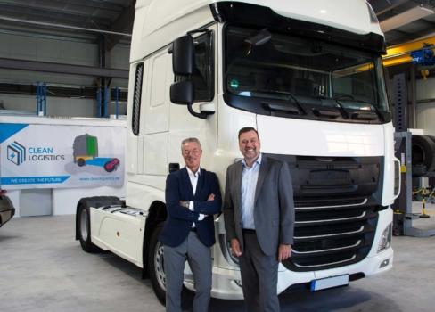 Clean Logistics converts diesel trucks to hydrogen