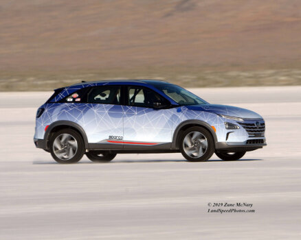 Hyundai NEXO attempts new speed records