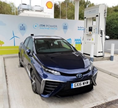 New hydrogen station opens at Gatwick Airport