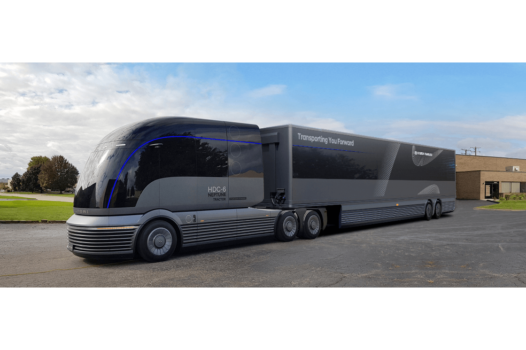 Hyundai unveils first hydrogen commercial truck