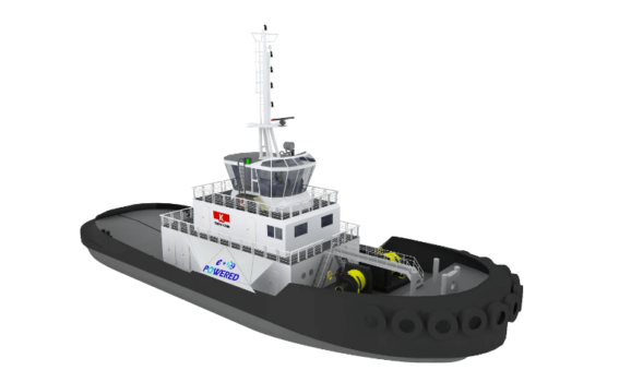 Hydrogen-powered tug planned for Japanese ports