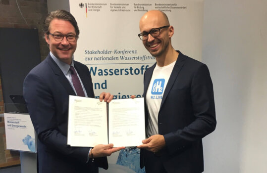 Germany's hydrogen infrastructure to be further expanded thanks to BMVI/H2 Mobility MoU
