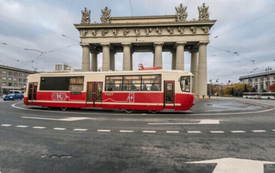 Russia tests hydrogen tram