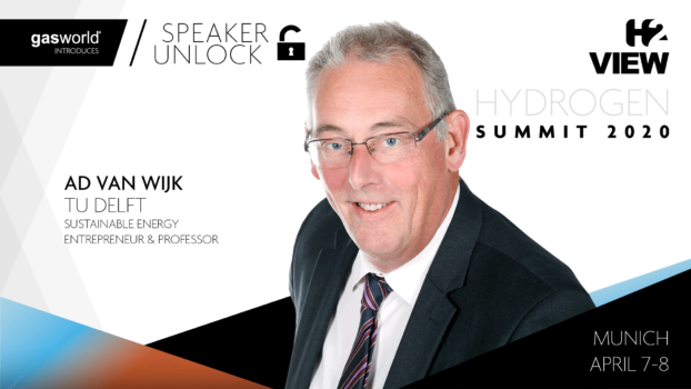 Prof. Ad van Wijk confirmed to open H2 View Hydrogen Summit 2020
