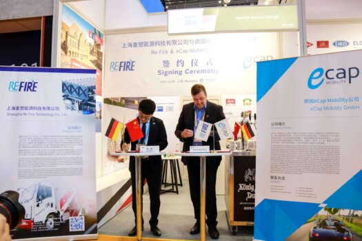 eCap signs agreement to develop hydrogen mobility solutions in Europe