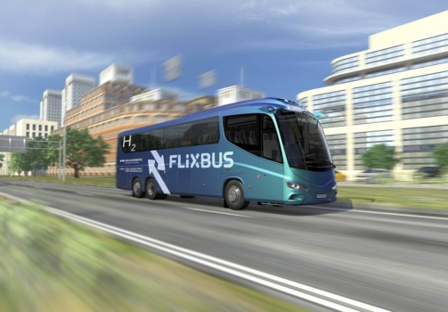 Long-distance fuel cell buses planned for Europe