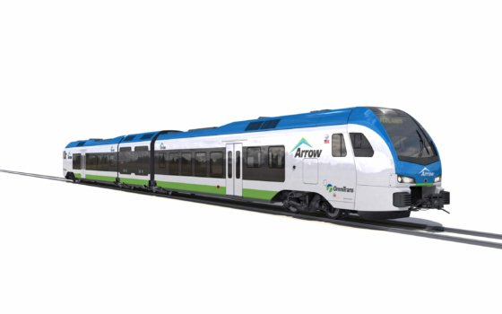 Contract signed for first-ever hydrogen-powered train in the US