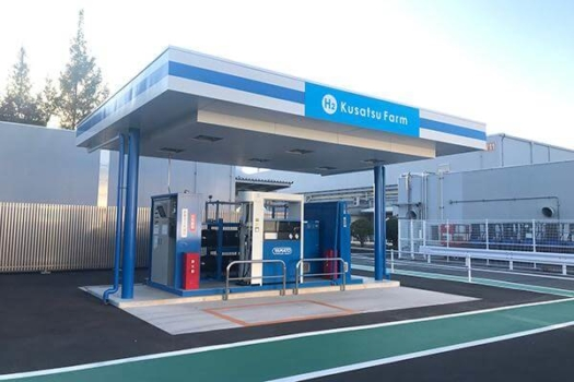 Panasonic opens hydrogen station in Japan