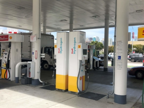 California's 43rd hydrogen station opens
