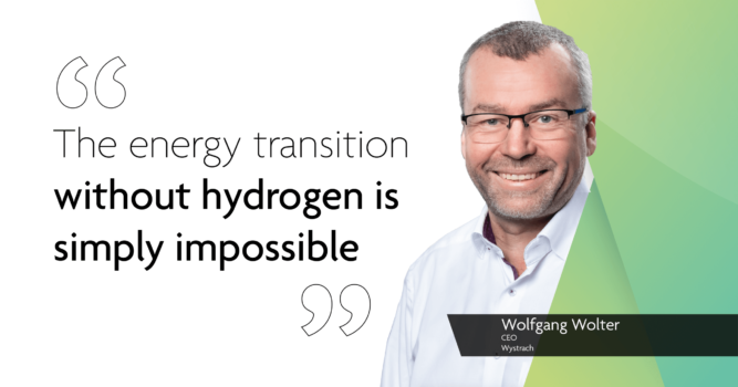 Ramping up: Wystrach seeing an increase in hydrogen projects