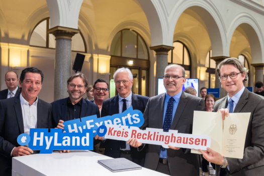 16 German regions receive hydrogen support